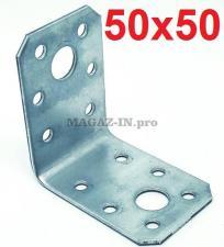 уголок крепежный перфорированный оцинкованный 50х50х35х2