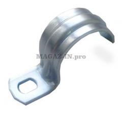 Скоба металлическая однолапковая 12-13мм