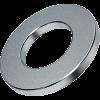 шайба плоская оцинкованная din 125А диаметр 4 мм