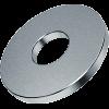шайба широкая увеличенная оцинкованная din 9021 диаметр 18 мм