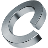 шайба пружинная оцинкованная din 127 диаметр 3 мм