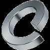 Шайба оцинк.пружинная DIN 127  4 мм