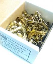 коробочка 100 штук дюбель металлический для газобетона 6х32