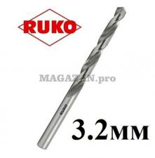 Сверло по металлу 3,2 мм DIN338 HSS-G Ruko (Германия)