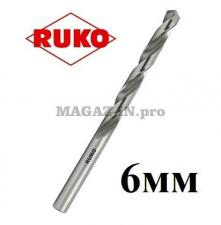 Сверло по металлу 6 мм DIN338 HSS-G Ruko (Германия)
