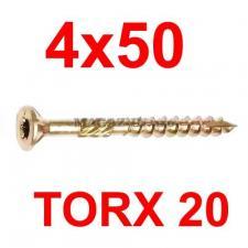 саморез конструкционный по дереву TORX 4х50