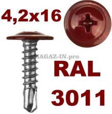 Цвет RAL 3011 коричнево-красный