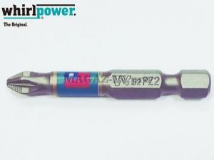 бита для оцинкованных саморезов РZ 2х50 Whirlpower