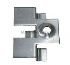 крепеж для террасной доски из ДПК и декинга под паз 8 мм