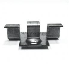 крепеж для террасной доски ДПК и декинга из полимерного материала под паз 8 мм