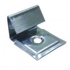 Стартовая и финишная клипса для монтажа террасной доски из дпк и декинга высотой 6 мм