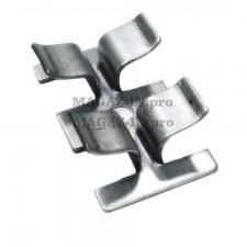 кляймер оцинкованный для крепления террасной доски и декинга из оцинкованной стали