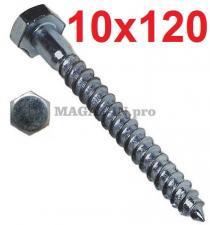 Болт сантехнический DIN 571 10х120