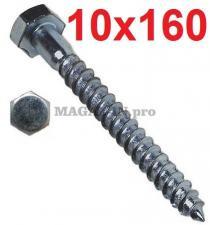 Болт сантехнический DIN 571 10х160