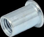 Гайка-заклепка цилиндр. фланец без рифл.  М12
