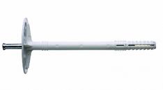 Дюбель для утеплителя с металлическим гвоздем 10х180
