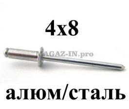 алюминий/сталь со стандартным бортиком